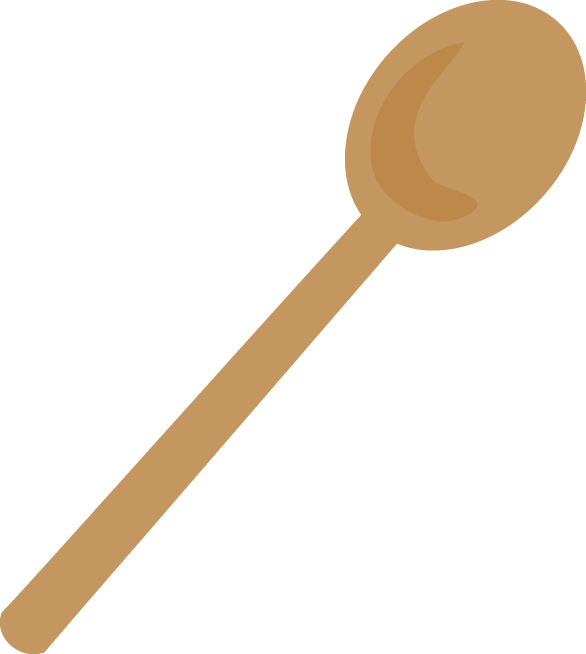 Spoon clipart wooden spoon. At getdrawings com free