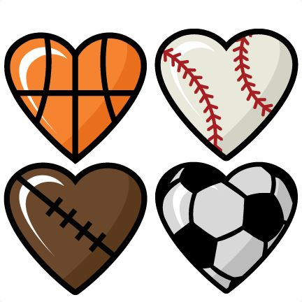 Sports clipart love. Silhouette clip art at