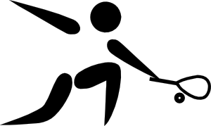 Sport clipart squash. Olympic sports pictogram clip