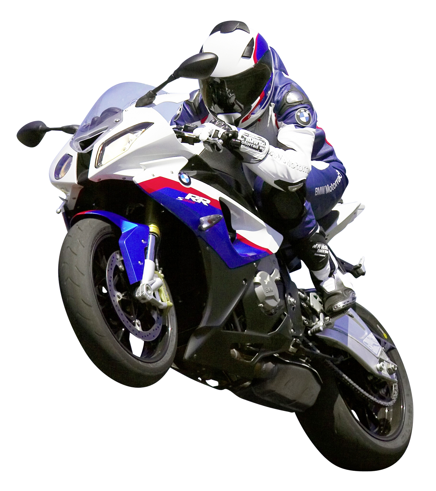 Motorcycle rider png. Bmw s rr sport