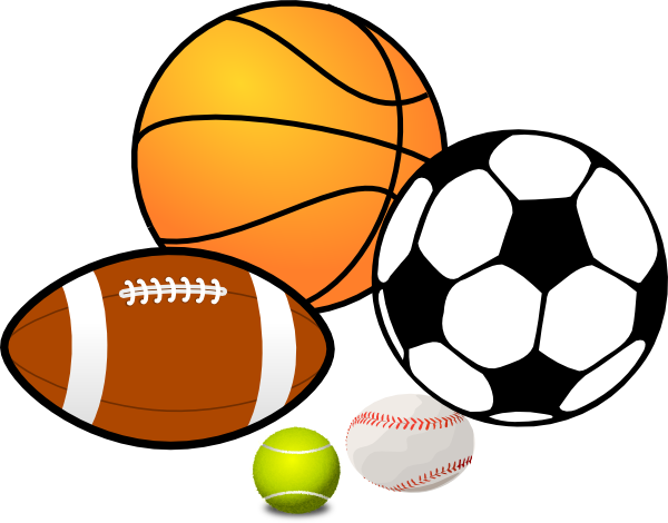 Sports clip art png. Play at clker com