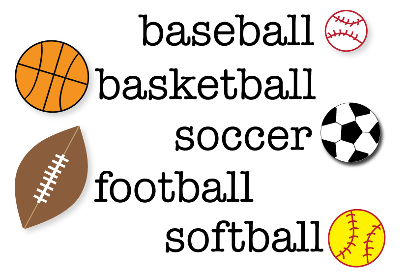 Sports clipart. Free clip download art