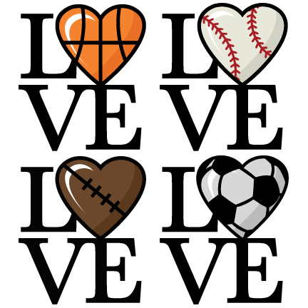 Sports clipart love. I clip art library