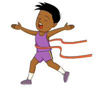 Sports clipart ribbon. Search results for running