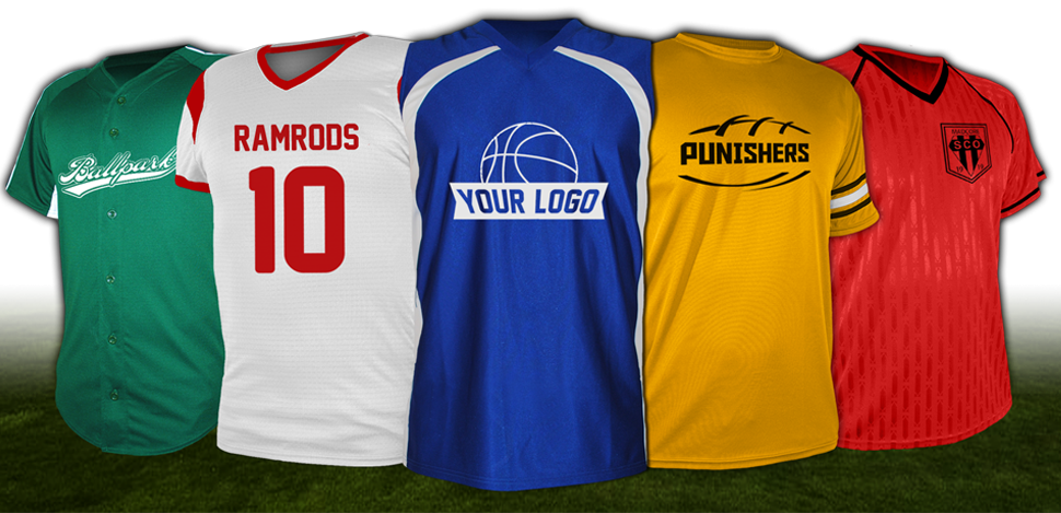 Sports jersey png. Design custom team jerseys