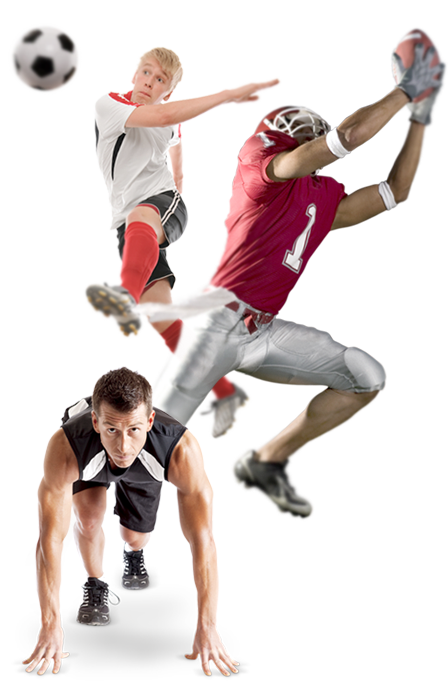 Sports players png. Concussion management sportsplayers balance