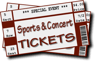Sports tickets png. Types of you can