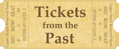 Sports tickets png. Home from the past