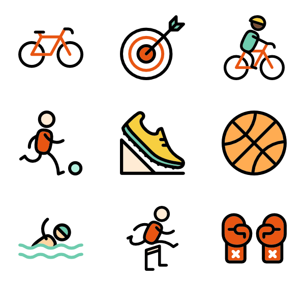 Sports vector png. Basketball icon packs