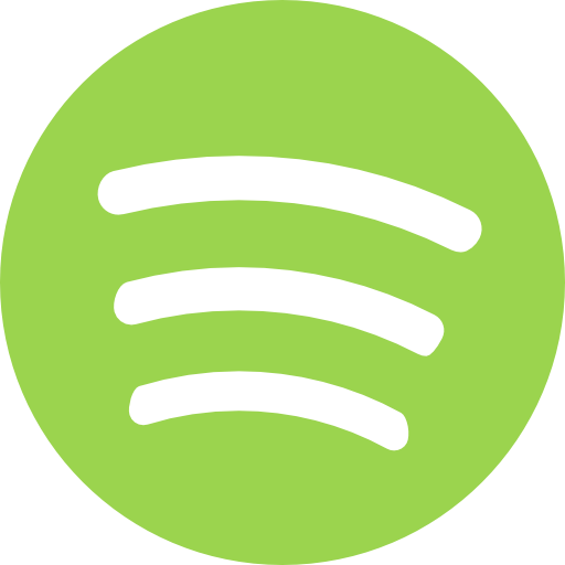 Spotify vector clipart. Logo music player brand