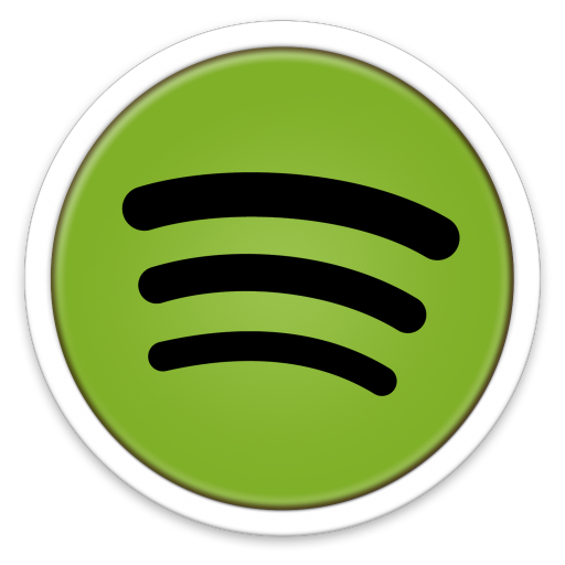Spotify vector round. Library icon free icons