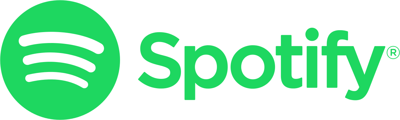 Spotify vector wiki. File logo with text