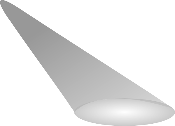 Spotlights clipart png. Spotlight simple greyscale clip