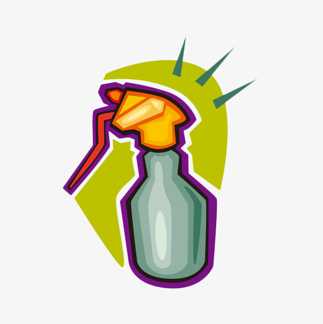 Spray clipart insecticide spray. Cartoon bottle demineralization png