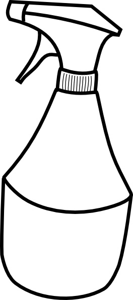 Spray clipart spray bottle. Drawing at getdrawings com