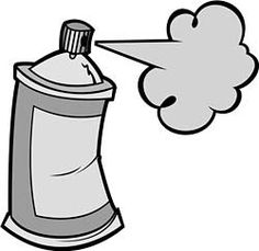 Spray clipart spray can. Paint bottle cap images