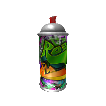 Spray paint png. Can image