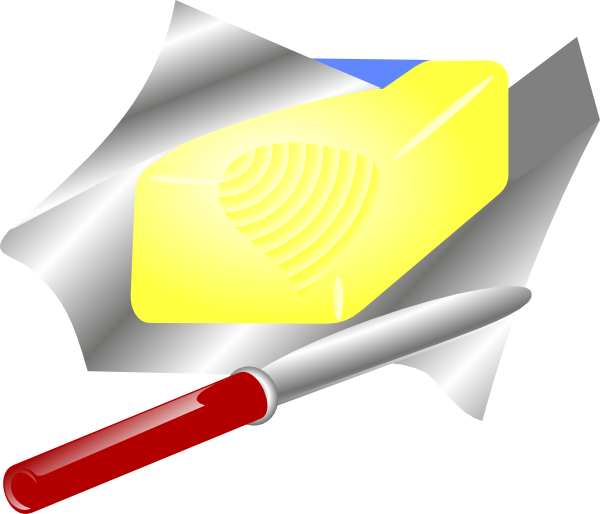 Animated butter png. And knife clip art