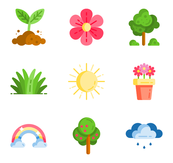Spring art png. Icon packs vector