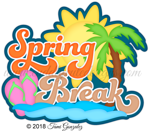 Spring break png. Download image with no