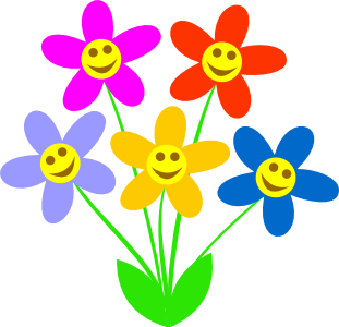 Spring flower clipart png. Free