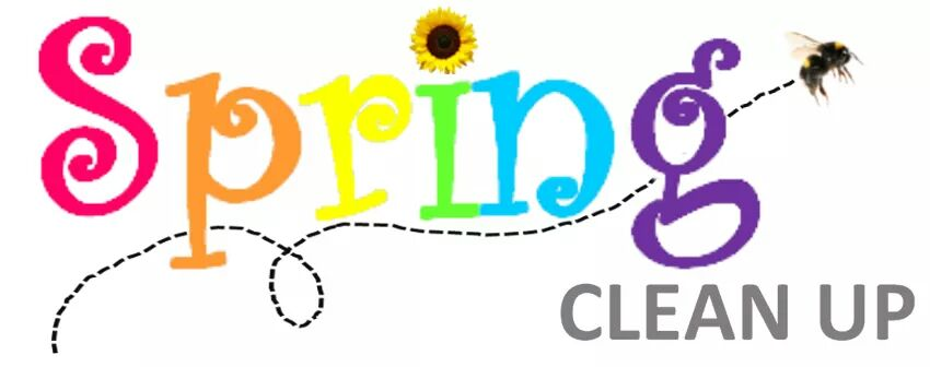 Spring clipart cleanup. City of bryant sets