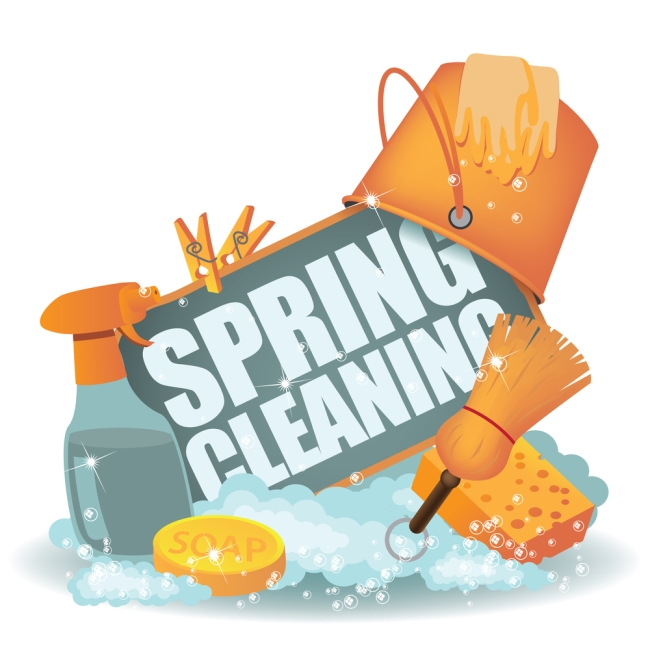 Spring clipart cleanup. And grout cleaning house