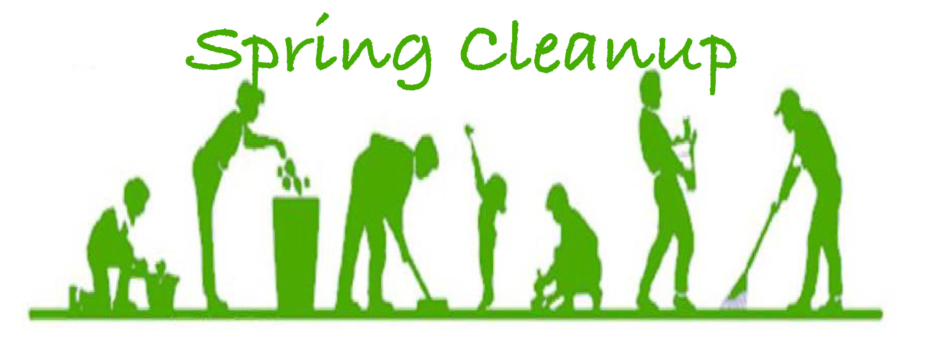 Spring clipart cleanup. Help wanted clean up