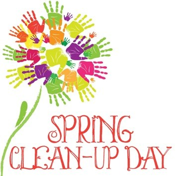 Spring clipart cleanup. Clean up new glasgow