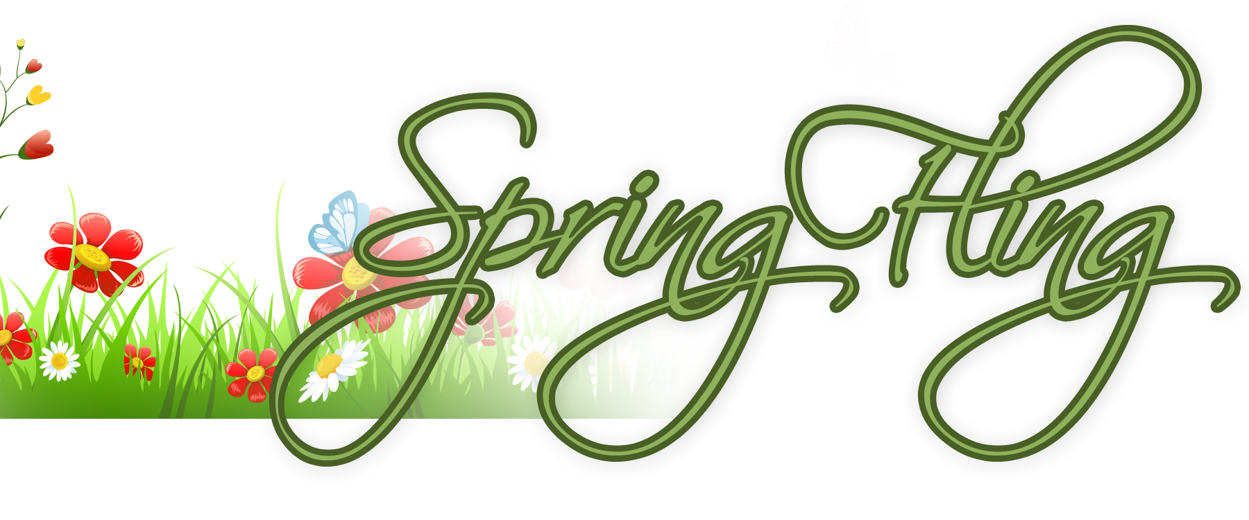 Spring fling png. Open house tussey mountain