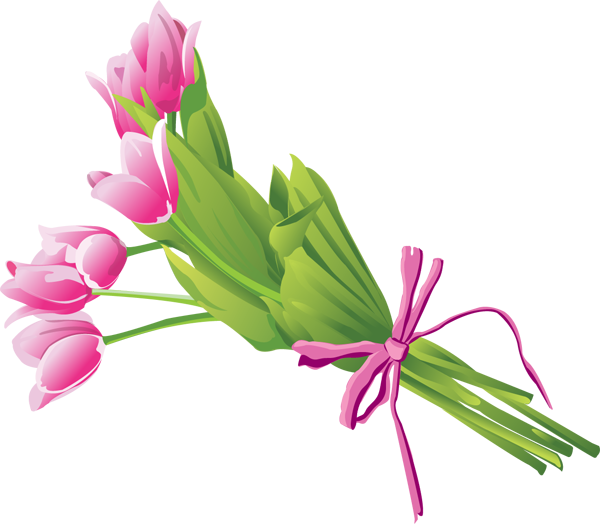 Spring flower bouquet png. Collection of clipart
