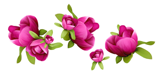 Spring flowers clip art png. Decoration clipart gallery yopriceville