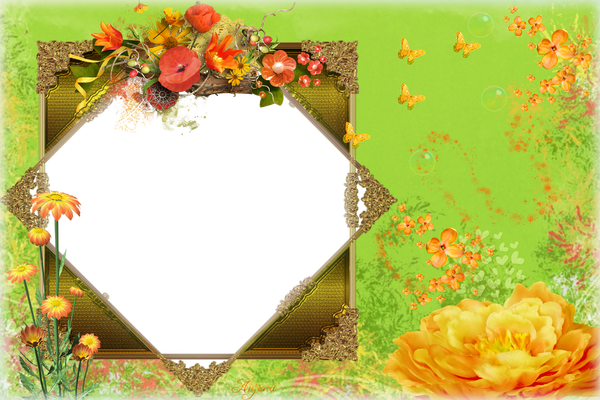 Spring frame png. Pictures and ideas