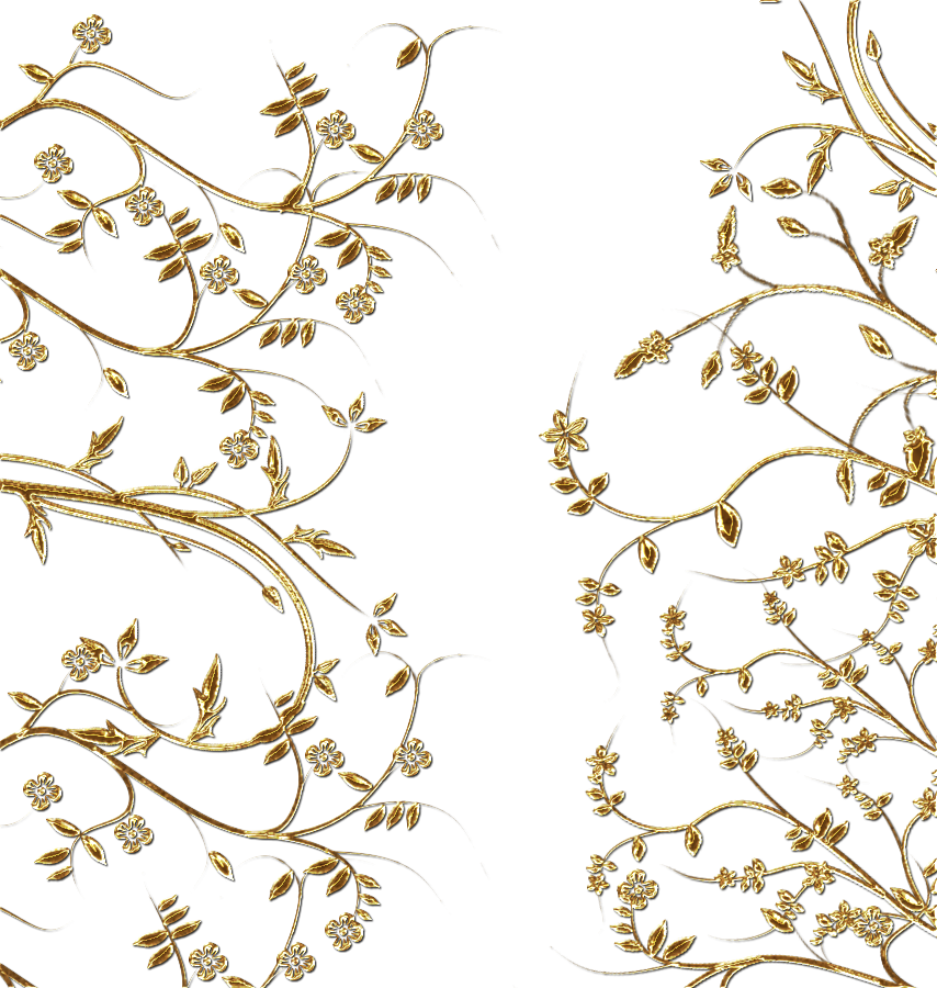 Spring pattern png. Gold file use anywhere
