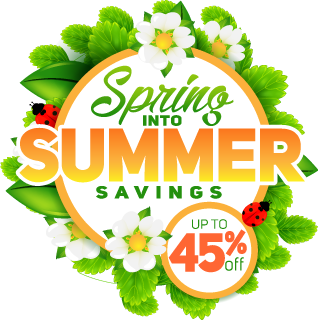 Spring into summer png. Sale free room upgrade