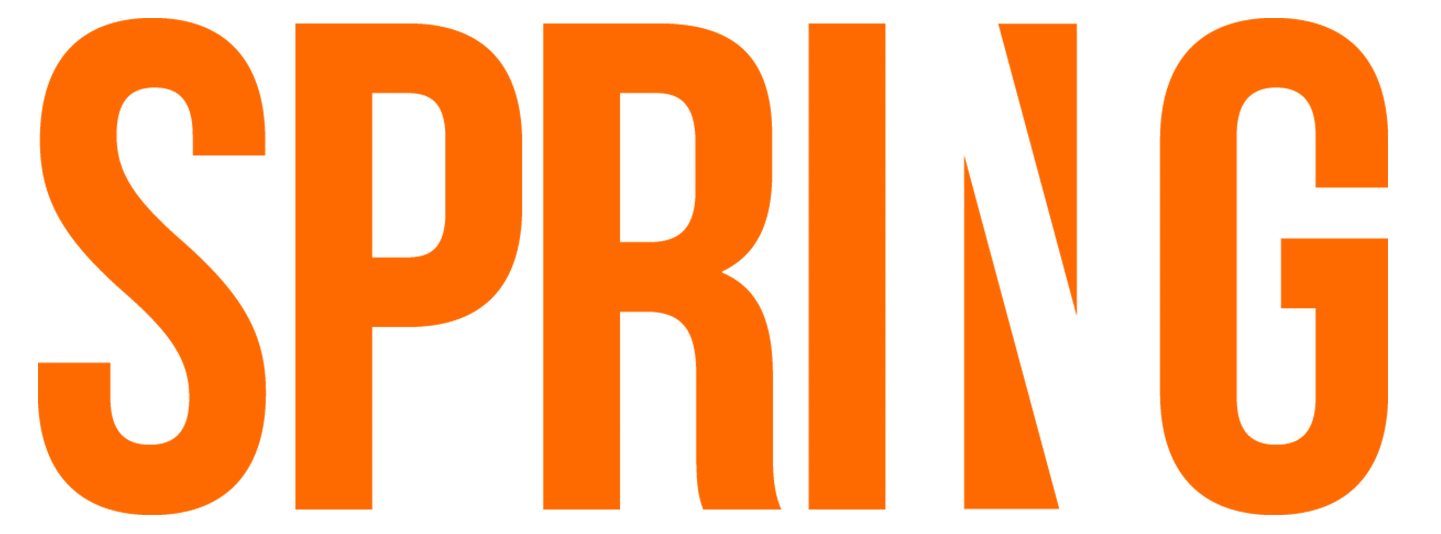 Spring text png. News