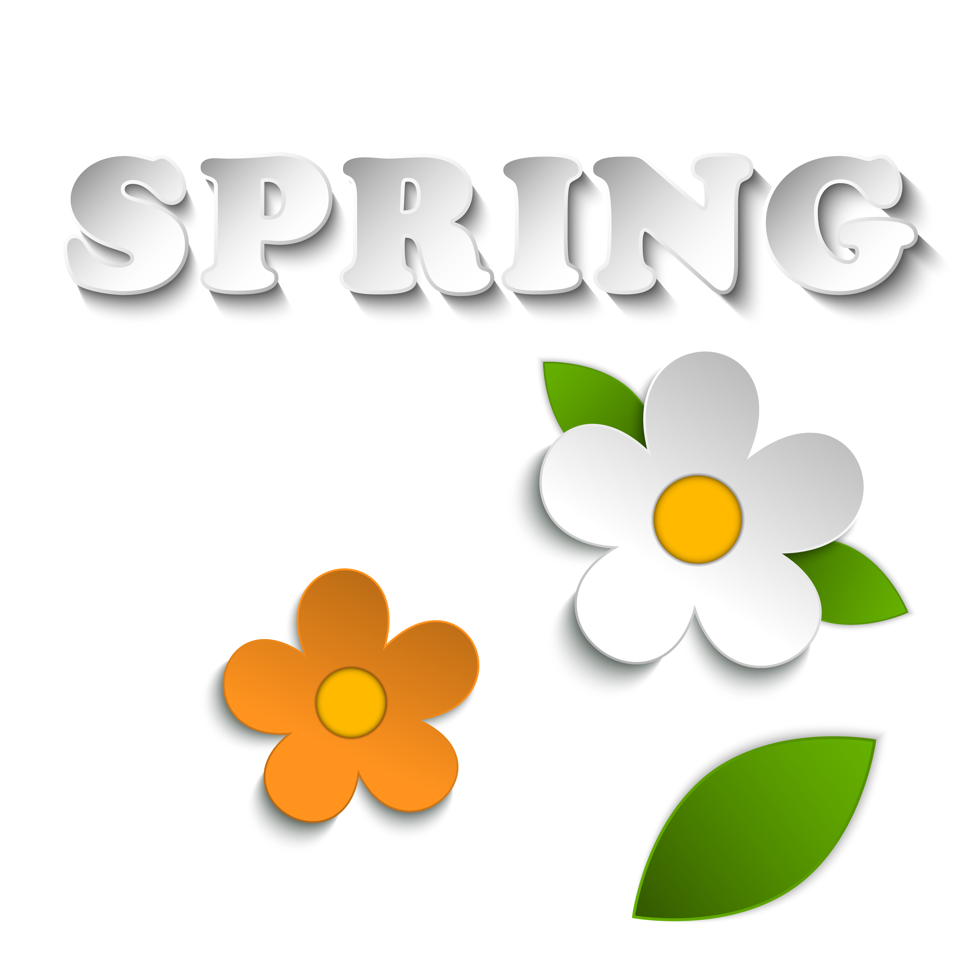Clip art spring new. Vector stickers svg free library
