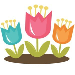 Springtime clipart tulip. Cute spring at getdrawings