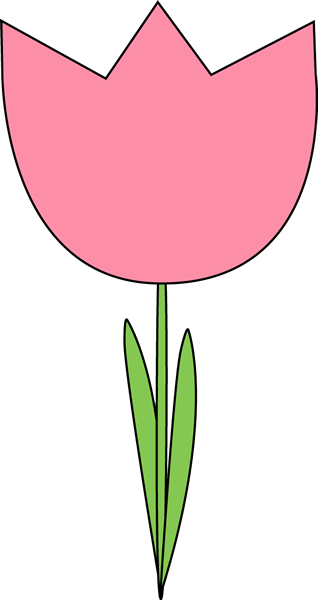 Tulips clipart pink tulips. Spring clip art images