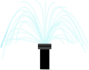 Sprinkler vector. Head clip art at