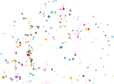 Party confetti png. Download free transparent image