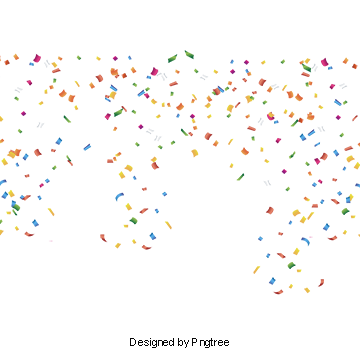 Confetti overlays png. Vectors psd and clipart