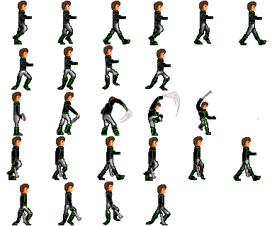 Transparent sprites player. Hull breach character sprite