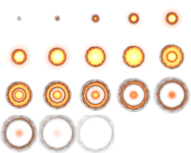 Sprite explosion png. Free game assets space