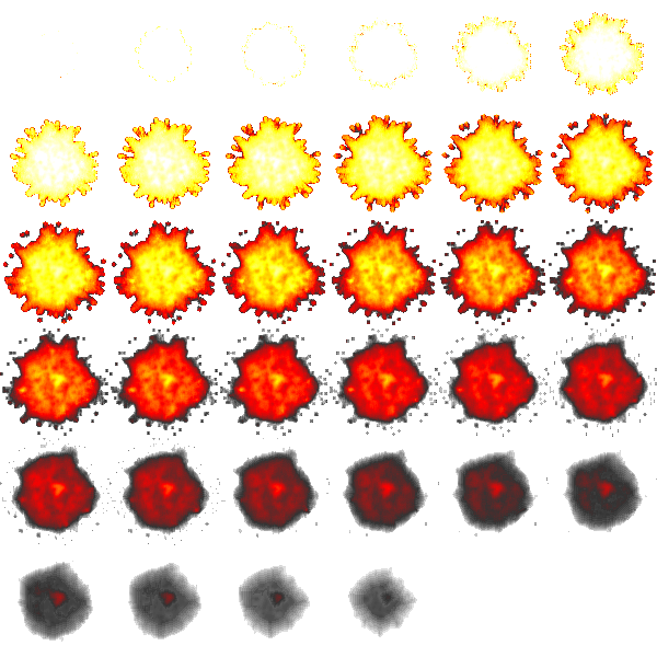 Sprite explosion png. Free graphics for flash