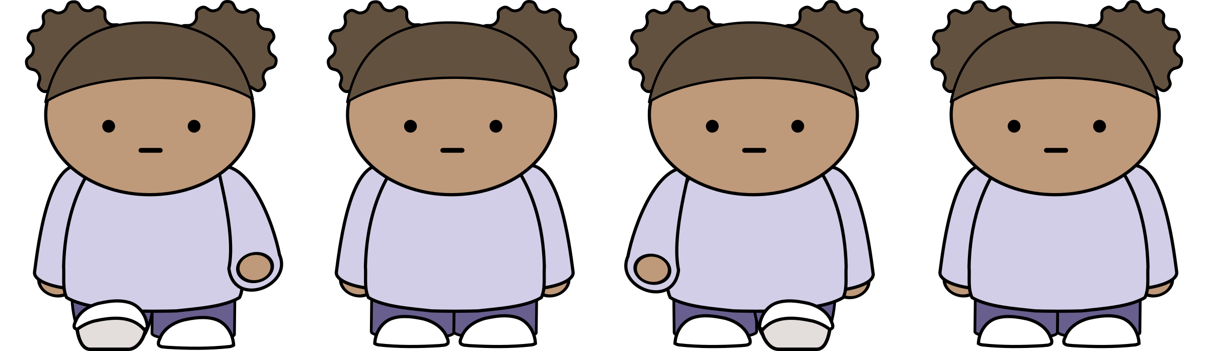 Sprite sheet png walking. Girl icons free and