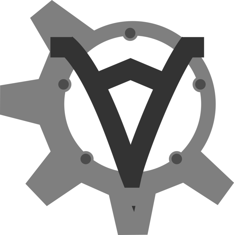 Sprocket drawing flower. Gear symbol computer icons