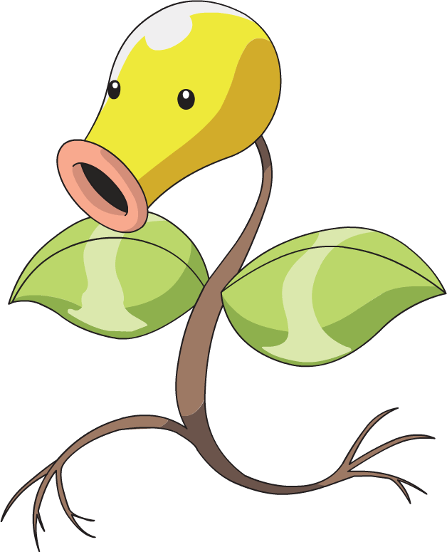 Sprout clip anime. Image bellsprout ag png