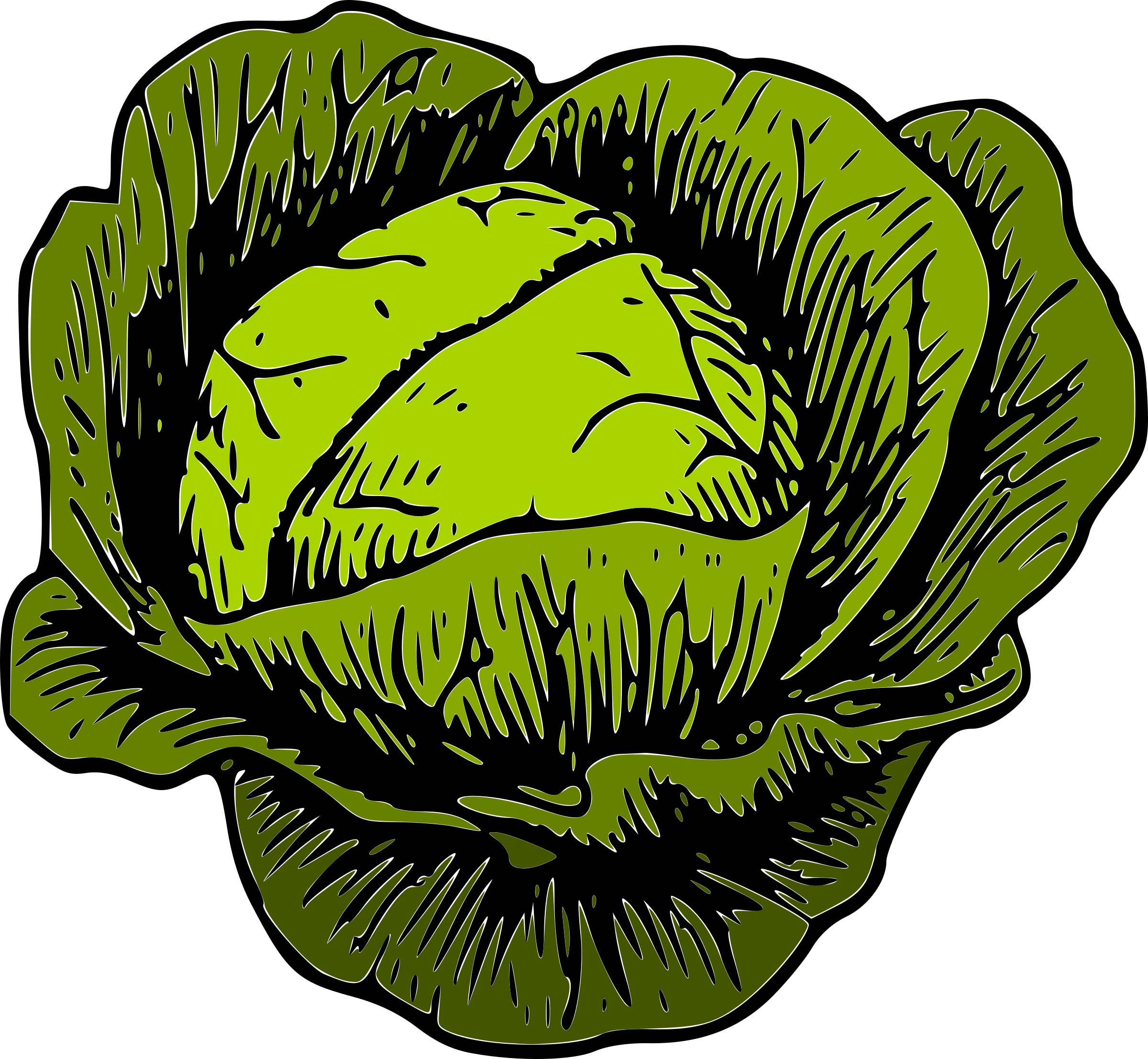 Corn clipart happy. Savoy cabbage brussels sprout