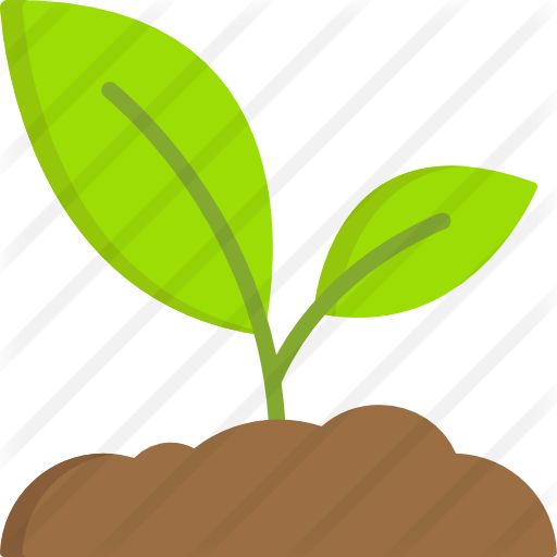 Sprout clip grass. Free nature icons icon